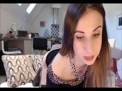 Horny Pregnant brunette extreme face creampie Thumb