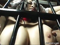 restrain bondage  action with big orbs  babe Yuki Takizawa Thumb