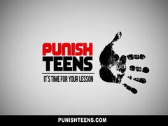 PunishTeens - Blonde Teen Is A Good Lil' Slut Thumb