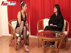 FUN MOVIES Amateur German Lesbians and a strap-on Thumb