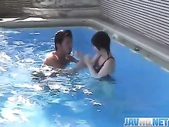 Boyley pulverizing xxx tedious by the pool Thumb