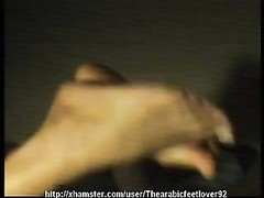 smash and spunk  on arabic soles(Morocco. dame slapping soles) Thumb