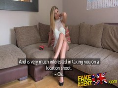 FakeAgentUK Orgasms anal sex and squirting in interview Thumb
