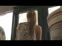Upskirt Voyeur In Train BVR Thumb