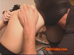 Milf gets her pussy SUCKED with a VACUUM Cleaner Thumb