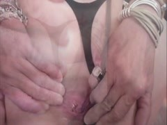 Homemade anal : Rough anal with booty milf Thumb