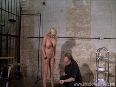 Pussy tortured Melanie Moons busty bdsm and german slave gir Thumb