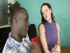 wifey  displaying husband How To gargle  sunless jizz-shotgun Thumb