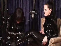 Mistress Silvia and her Sissymaid Thumb