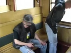 Mans fuck auditor in train hard (czech porn) Thumb