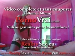 Incroyable squirt and vagina contractions!!! French amateur Thumb