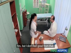 Sensual bitch is enjoying hardcore sex with an awesome doctor Thumb