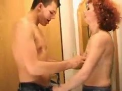 Redhead MILF and young boy 2 Thumb