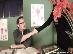 big-titted Mom tears up Her Kid's Teacher Thumb