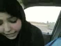 THE YOUNGEST WHORE WITH VEIL RIDING COCK IN CAR HIDDEN CAM Thumb
