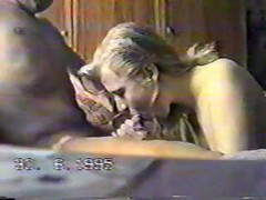 Vintage Russian scene from the 90's with a slender blonde Thumb