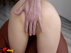 First anal experience of a big-butt Russian girlfriend Thumb