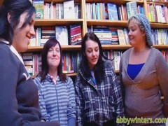 Abby Winters is talking with her girls regarding public nudity Thumb