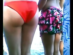 damp inexperienced bikini teenage  caboose  hidden peruse cam voyeur beach 2 Thumb