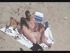 Nude Beach - Couples Caught on Camera - voyeurs & helpers Thumb