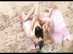 Voyeur on public beach. brilliant hookup with steaming lady Thumb