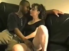 Creamy White Wife gets a pie from  724adult com Thumb