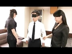 roped up by two japanese beauties and drained  off Thumb