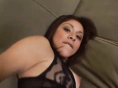 She loves it anal Thumb