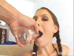 Alicia gets it in both crevices  POV Thumb