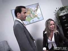poor secretary hired for anal Thumb