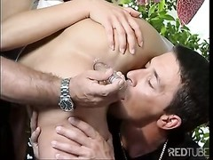 two fuck-sticks for her mouth are right Thumb