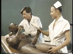 Nurse gets penetrated by doctor and patient Thumb
