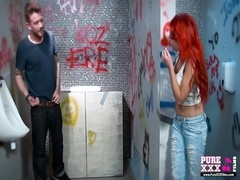 PureXXXFilms screw Me in the Public Toilet Thumb