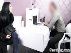 Castingxxx wild amateur bangs in interview Thumb