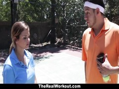 TheRealWorkout - Keisha Grey poked  Outdoors Thumb