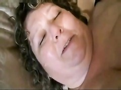 amateur BBW Housewife Taking The sausage Thumb