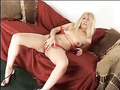 blondy asian mummy  hooker gets her asshole nailed tough by a large man sausage Thumb