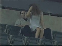 Stadium hookup Ground sex Thumb