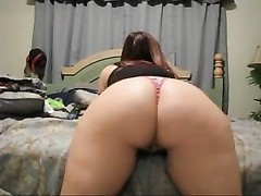 steaming doll  wiggling  Her Phat bootie in a panties AL84 Thumb