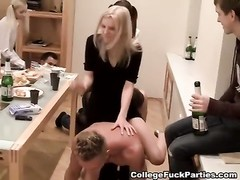 Striptease ended with an orgy at the party Thumb