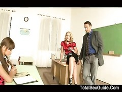 stunning student after school 3some Thumb