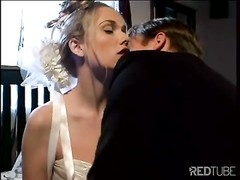 gorgeous bride consumes shaft Thumb