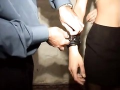French, movie  - dismal skin French fuckslut is bind Thumb