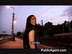 PublicAgent insensible - Mindblowing deep throat and hook-up Thumb