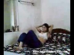 indian bhabhi desperate for hook-up fucked hard by spouse in missionary style Thumb