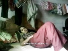 youthfull  freshly  married indian lovers deepthroating and nailing in their bedroom recorded Thumb