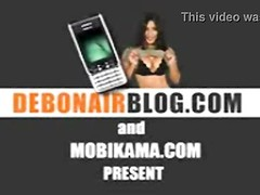 Andhra housewife in blue blouse hooters fondled MMS Thumb