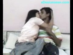 Desi College guy fist Time hook-up  At home Thumb