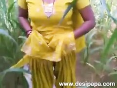 indian punjabi bhabhi drilled in inaugurate fields mms Thumb