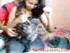 super hot Indian damsel Poonam Tripthi With Her bf Thumb